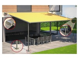 New Markilux Pergola 200 awning systems available from Awnings, Blinds and Shutters by Sunteca