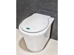 New Nature Loo Compact toilet from Ecoflo now in white