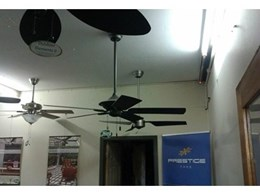 New Prestige Fans showroom showcases complete range