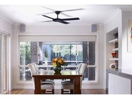 New Revolution and Attitude ceiling fans from Hunter Pacific