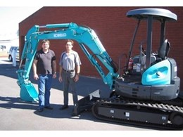 New WA Kobelco dealer hits the ground running