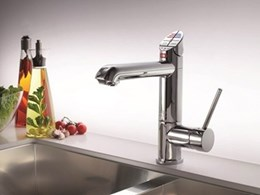 New Zip HydroTap for sparkling, boiling and chilled water from one tap