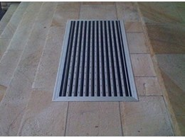 New entrance flooring surface mounted frames available from Just Mats