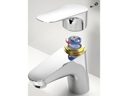 New feature in Dorf mixer tap reduces risk of scalding