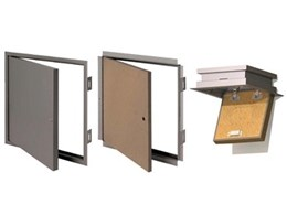 New fire rated ceiling hatches available from Kimberley Products