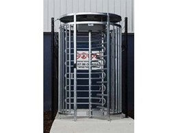 New full height turnstile for outside controlled access