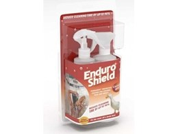 New generation EnduroShield cleaning product for tiles and grout reduces cleaning time by up to 90%