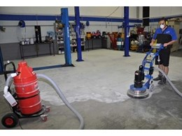 New heavy duty concrete grinders from Kennards Hire