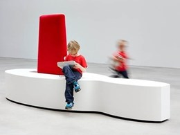 New modular seating for public spaces