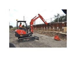 New role for Kennards' mini excavators