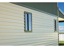 New weatherboard alternative with MorClad steel wall cladding