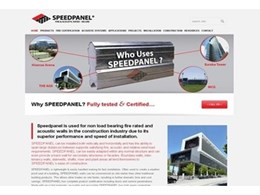 New website for Speedpanel showcases projects