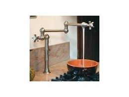 Nicolazzi kitchen and bathroom tapware available from Canterbury Sink and Tap Company