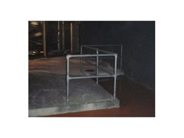 No welding modular handrails from Solid Dynamics