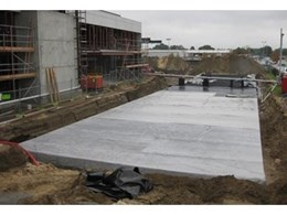 Novaplas Drainwell stormwater detention system installed at large 17,000m² distribution centre