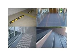 Novaproducts brings Novatred matting, tactiles, stair nosing and wheel stops to Queensland
