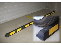 Novaproducts wheelstops and speed humps improve safety and vehicle care