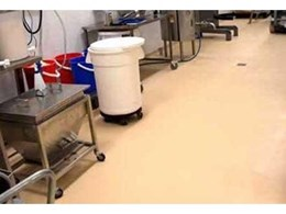 Nuplex Surecote 200HS epoxy resin based flooring installed at Loganholme bakery