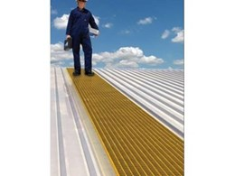 On-Trak Roof Walkway Systems from Sayfa Systems