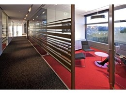 Ontera Modular Carpets provides Ultra Directions and Envisions IBC modular carpets for John Holland relocation
