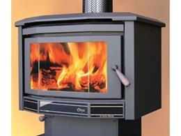 Onyx freestanding wood heaters available from Eureka Heating