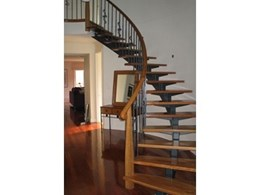 Open string and cut string architectural staircases from Eric Jones Stairbuilding Group