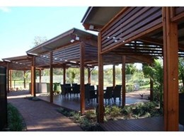 Outside Products designs 10 custom shelters for Gold Coast Holiday Park