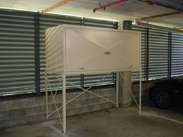 Over bonnet car park storage systems from Qwik-Store Custom Storage Lockers