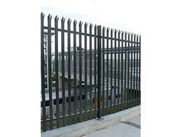 Palisade high security fencing supplied by Bluedog Fences Australia