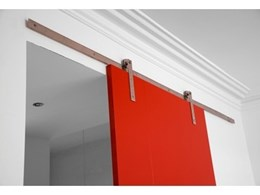 Panama sliding door system retro in look, modern in fit-out