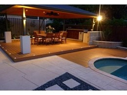 Passport PVC decking from Composite Materials Australia ideal for pool installations