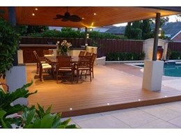Passport decking made from 100% cellular PVC boards available from Composite Materials Australia