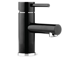 Pegasi Black Chrome Mixer Taps from Faucet Strommen