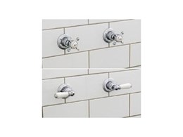 Perrin & Rowe shower mixer taps from The English Tapware Company