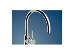 Pin lever mixers for basins and sinks