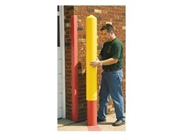 Plastic bollard sleeve available from Lighthouse Bollards & Caps