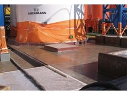 Polyurethane coating from Australian Urethan Systems used as corrosion protection for bund