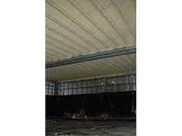 Polyurethane foam roof insulation from Foamed Insulation