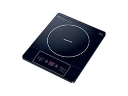 Portable induction cooktop and multifunction oven available from Omega Appliances