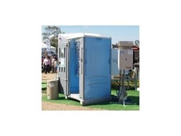 Portable showers from 1300 Ensuites Australia