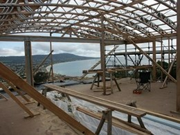 PosiStrut Trusses from MiTek Australia for Curved Roofs