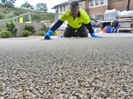 Possibilities flow with permeable paving