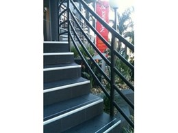 ProStep Aluminum safety stair nosings from Grip Guard Non Slip