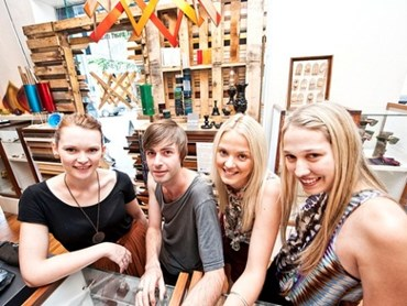 Upcycle Recycle And Repurpose Trends Go On Show In Brisbane QUT Interior Design Students