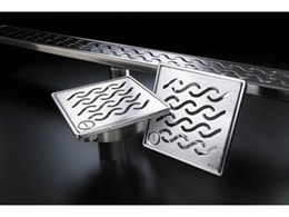 QuARTz range of shower grates from ACO Polycrete