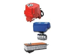 Quarter turn electric actuators available from All Valve Industries