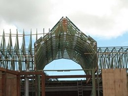 Queensland fabricator uses Pryda Build for complex roof design in Brisbane mansion project