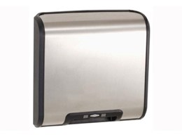 RBA and Bobrick TrimLine hand dryers available from RBA Group