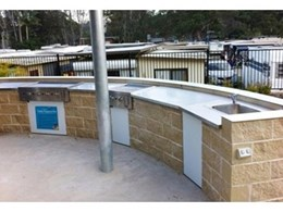 RBA's Chronomite instantaneous electric water heater a success at Conjola Lakeside Van Park