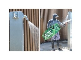 RBA showers installed at Cooks Park public amenities block receive rave reviews